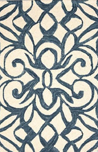 Chandelier Ink Micro-Hooked Rug - GDH | The decorators department Store