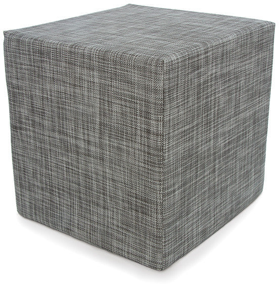Chilewich Mini Basketweave Cube | Gravel