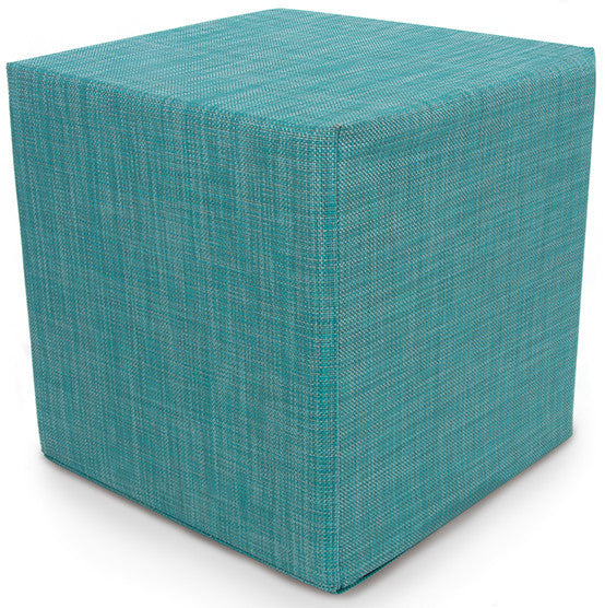Chilewich Mini Basketweave Cube | Turquoise