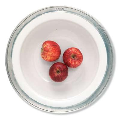 Match Pewter Convivio Round Serving Bowl |15