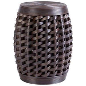 CYAN DESIGN Woven Sienna Stool - GDH | The decorators department Store