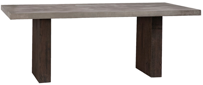 Norwood Cement Top Dining Table