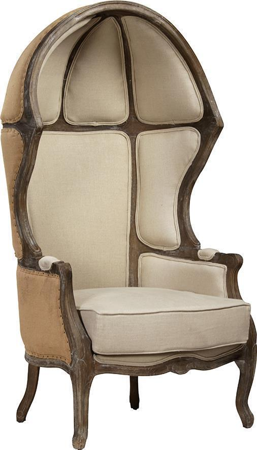 Hooded Wingback Chair - Benton and Buckley