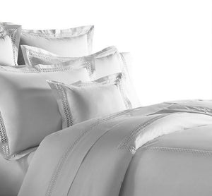 Emilia Hemstitch Bordered Italian Bedding