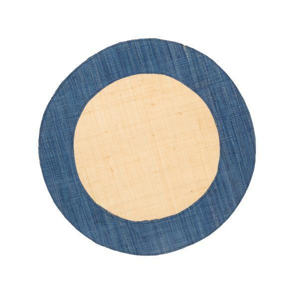 The Ford Raffia Denim Blue Placemats (Set of 4)