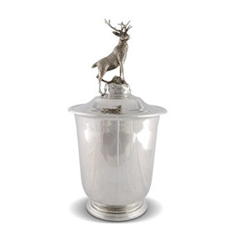 Elk Pewter Ice Bucket - GDH | The decorators department Store