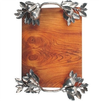 Pear Branch Serving Tray - GDH | The decorators department Store