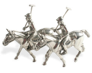 Polo Pewter Salt and Pepper Shakers - GDH | The decorators department Store