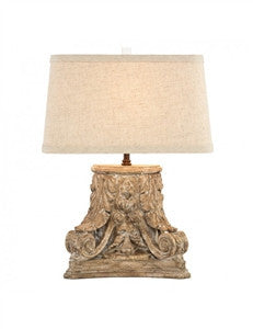 Aidan Gray Corinthian Fragment Lamp - GDH | The decorators department Store