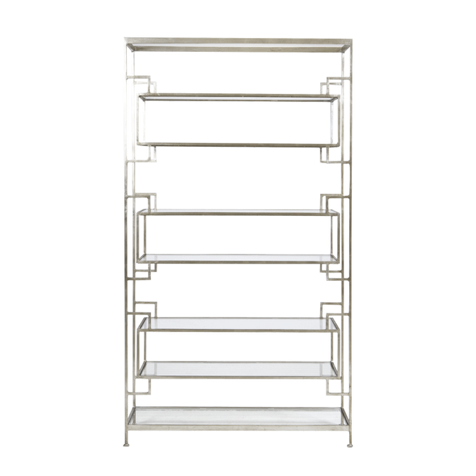 Lamar Etagere | Silver - Benton and Buckley