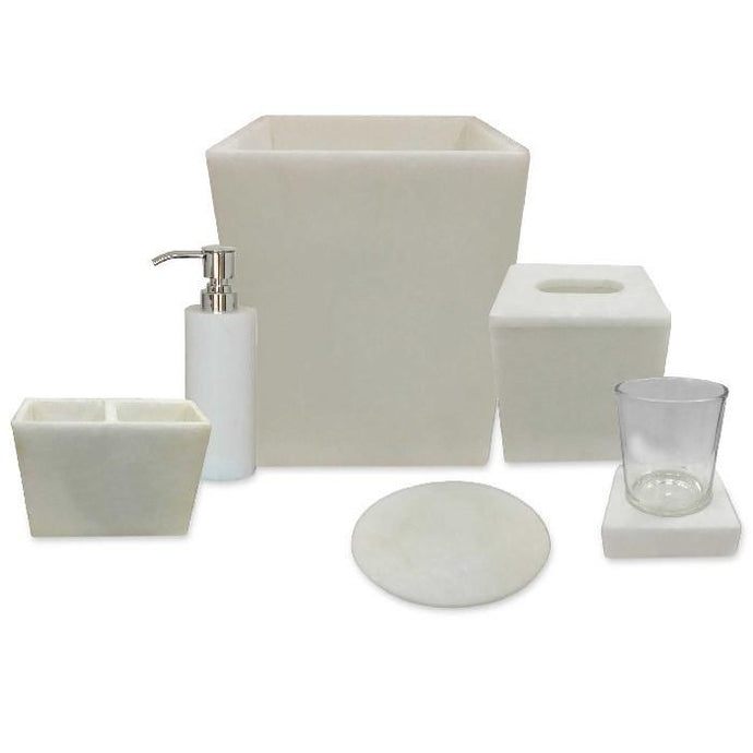 Alabaster Bath Accessories