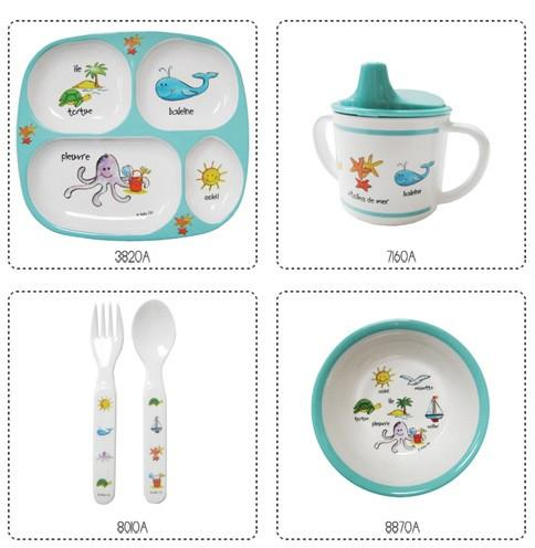 Ocean Animals Baby Dinnerware - GDH | The decorators department Store