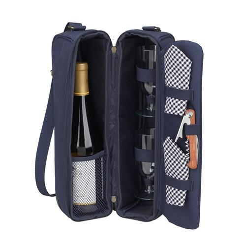 Sunset Wine carrier | Navy - GDH | The decorators department Store