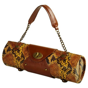 Wine Carrier and Purse | Snakeskin - GDH | The decorators department Store