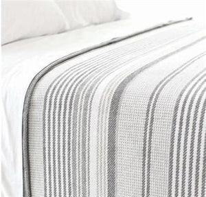 Gradation Ticking Blanket - GDH | The decorators department Store