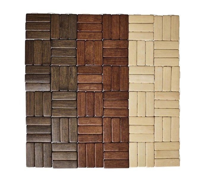 Jengaa Placemats S/4 | Brown