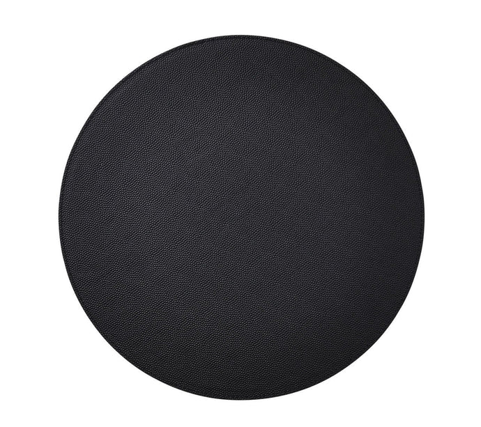 Shagreen Placemat | Black S/4