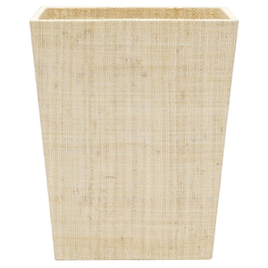 Koba Natural Rectangle Wastebasket