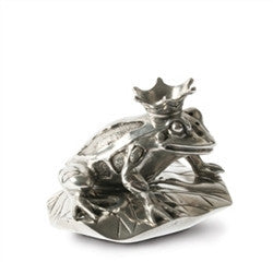 Pewter Frog Prince Salt and Pepper Shaker - GDH | The decorators department Store