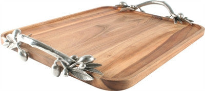 Olive Grove Serving Tray Rectangular - GDH | The decorators department Store