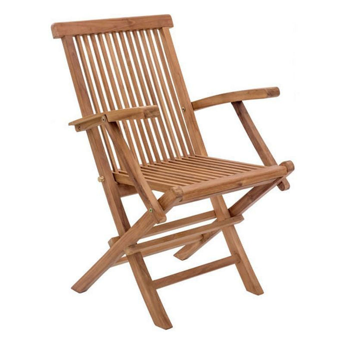 REGATTA FOLDING ARM CHAIR NATURAL - GDH | The decorators department Store - 1