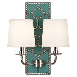 Williamsburg Lightfoot Wall Sconce | Teal