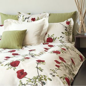 Baccarat Duvet Cover By Signoria di Firenze | Red