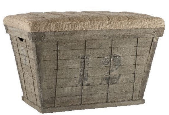 Aidan Gray Storage Crate in Black - homeinnapa.com