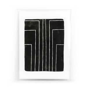 Vertigo Print Shadow Box by Jesse Engle