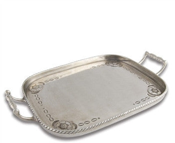 Vagabond House Pewter Western Bar Tray - GDH | The decorators department Store