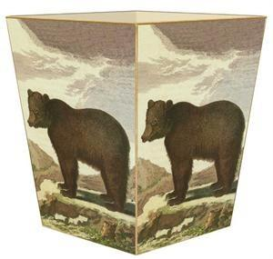 Brown Bear Wastebasket - GDH | The decorators department Store