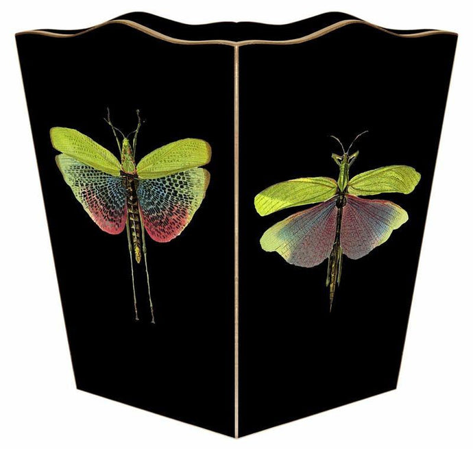 Butterfly Wastebasket - GDH | The decorators department Store