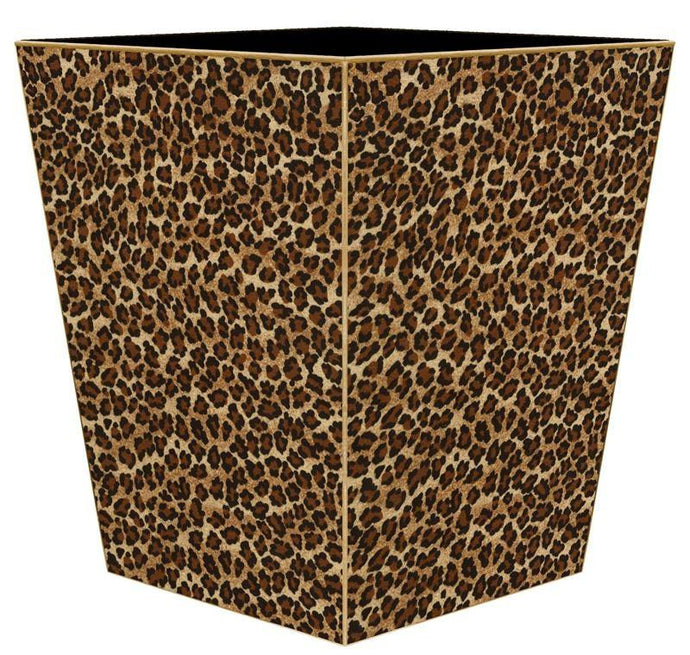 Leopard Print Wastebasket - GDH | The decorators department Store