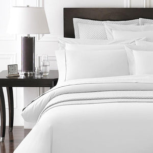 Bamboo-Organic Cotton Bedding | White