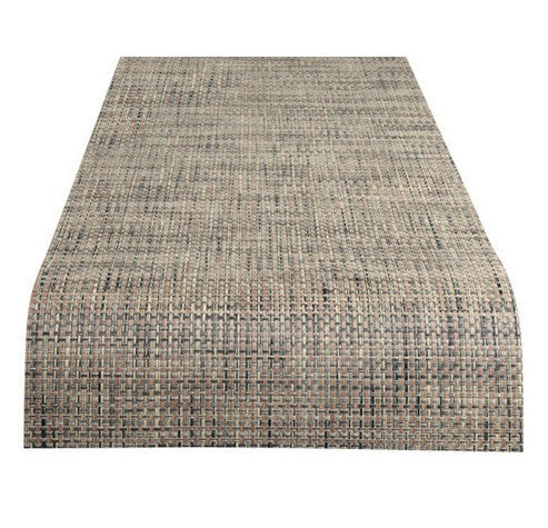 Chilewich Basketweave Runner | Bark - GDH | The decorators department Store