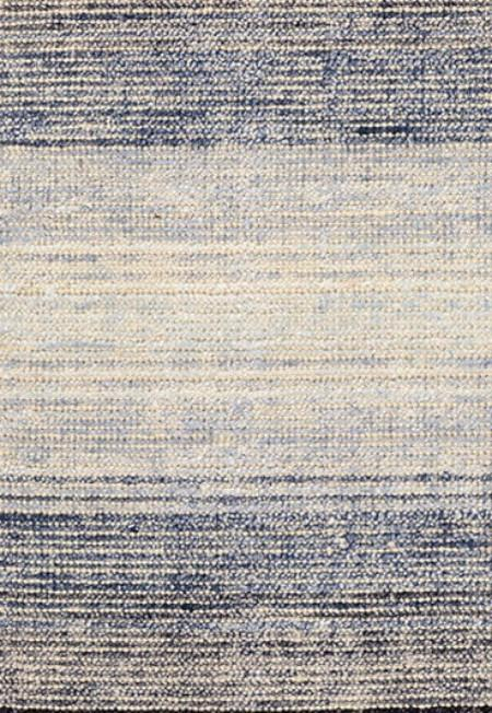 Blue Moon Cotton Viscose Woven Rug