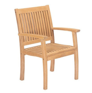 Buckingham Teak Armchair - GDH | The decorators department Store