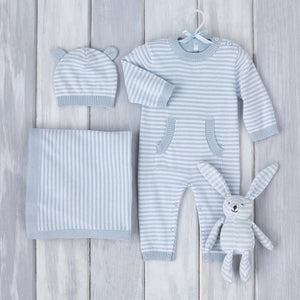 Blue Stripes Gift Set