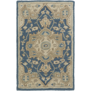 Caesar Hand Tufted Wool Rug | Navy