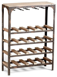 Gallatin Wine Rack - GDH | The decorators department Store