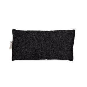 Flaxseed Wool Eye Pillow | Charcoal