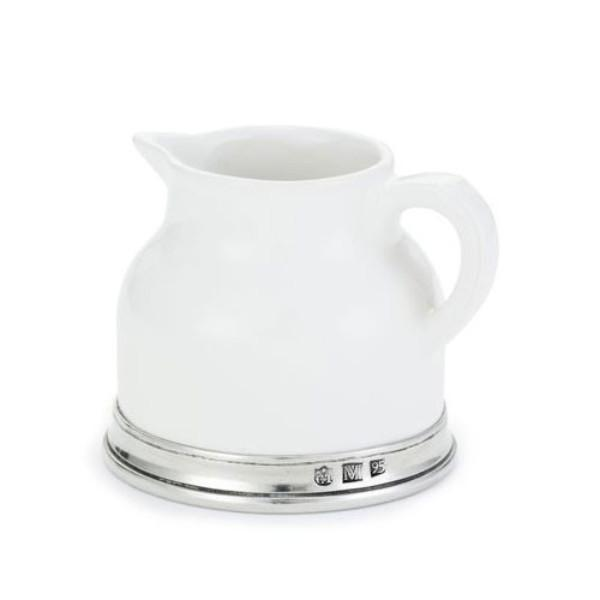 Match Pewter Convivio Creamer - GDH | The decorators department Store