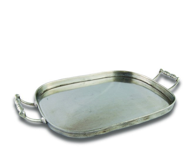 Pewter Classic Hotel Tray