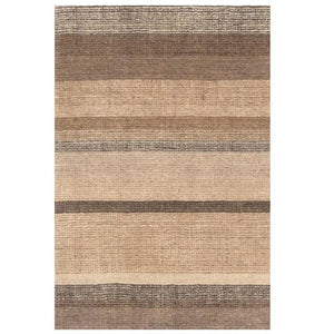 Rock Hill Striped Hand Knotted Rug - GDH | The decorators department Store - 1