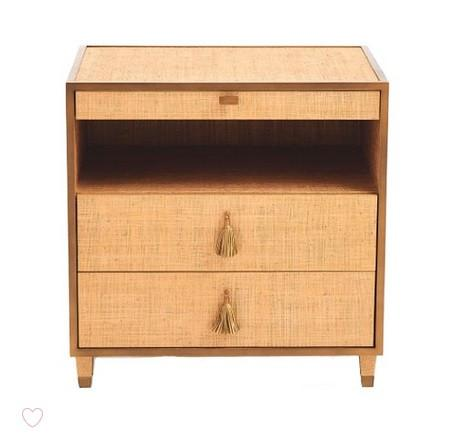 Global Views D'Oro Bedside Chest