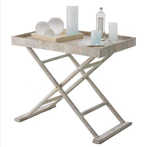 Driftwood Butler's Tray Table - GDH | The decorators department Store