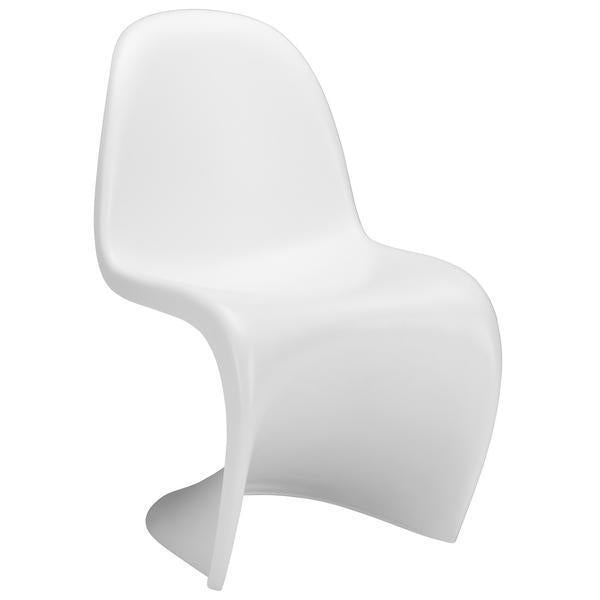 S Chair | White - Benton and Buckley