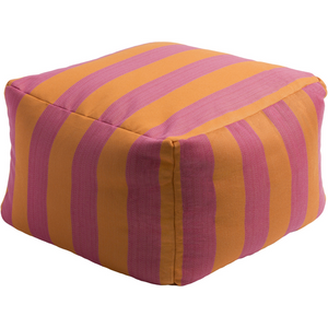 Finn Outdoor Pouf | Orange - GDH | The decorators department Store