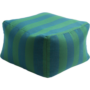 Finn Outdoor Pouf | Blue - GDH | The decorators department Store