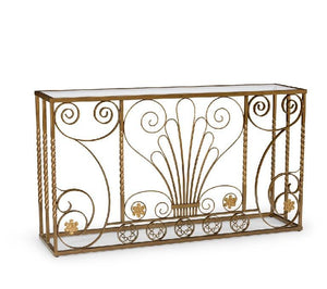 Chelsea House Fullam Road Iron Console